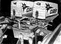 Два подвесных мотора «Москва-12,5» установленных на основном транце