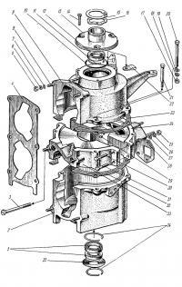 Двигатель (картер)