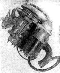 Двигатель с установленным электростартером СТ-353