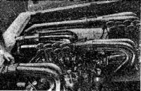 Двигатели «Аэромарин» в моторном отсеке «Драй Мартини»