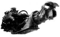 Движитель модели «752», спаренный с 8-цилиндровым бензиновым двигателем
