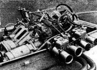 Двухроторный «ВАЗ-411» на глиссере R4 Б. Чепурных