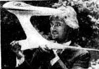 Эдмондс с моделью «Гайдровинга»