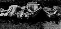 Экспериментальный каютный катер «Москва-2» с двумя опытными моторами «Нептун-33»