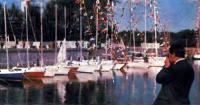 Экспозиции «Польская яхта-76», развернутая в гавани яхт-клуба БМП осенью прошлого года