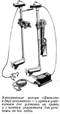 Электрические моторы «Джонсон» в двух исполнениях