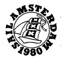 Эмблема праздника паруса в Амстердаме — завершающего третьего этапа четырнадцатой Операции Парус