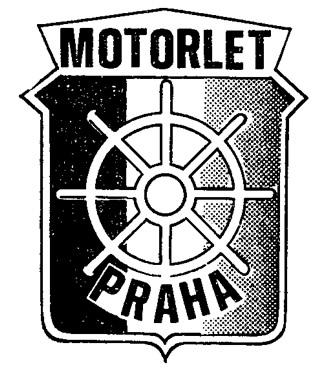 Эмблема пражского водномоторного клуба
