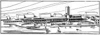Эскиз помещений будущего яхт-клуба