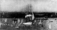 Флот ОП-82 собирается в Саутгемптоне