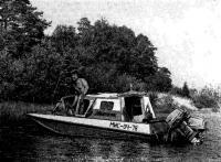Фото «Казанки-5» с самодельной рубкой