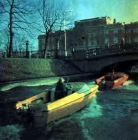 Фото лодки «Гамма» - вид сзади
