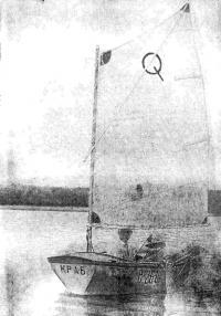 Фото лодки «Краб» с кормы