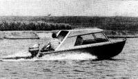 Фото лодки «МКМ» с рубкой