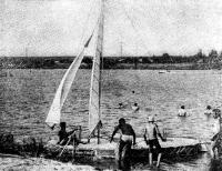 Фото парусного плота «Мапуна»
