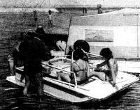 Фото плавучей дачи «Дон»