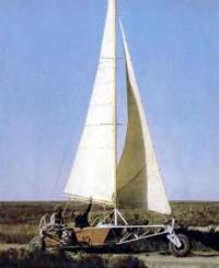Фото самодельной колесной яхты «Хобби»