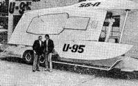 Глиссер «U-95» на трейлере