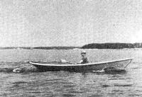«Глостерская чайка» на веслах