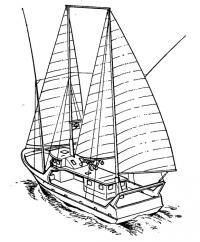 Головное судно серии парусно-моторных тунцеловов «Эол»