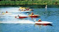 Гонки спортивных судов на реке Конке: стартуют мотолодки класса SC
