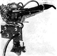 Гоночный мотор класса ОВ, показанный Одесским механическим заводом