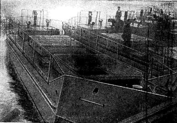 Готовые тендера, построенные на заводе имени Жданова