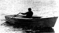 Гребно-парусная лодка «Пеликан» из легкого сплава