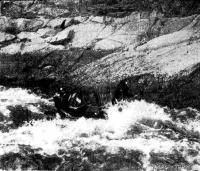 He менее 600 км лодки экспедиции прошли на большой скорости, но без помощи моторов