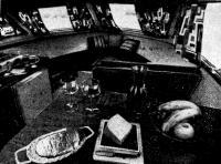 Интерьер каюты «Экспресс-крейсера»