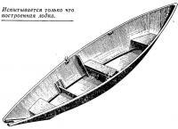 Испытывается только что построенная лодка