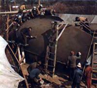 Изготовление корпуса яхты