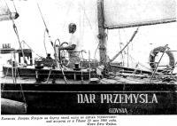 Капитан Хенрик Яскула на борту своей яхты