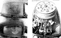 Капот с пусковым механизмом и общий вид мотора