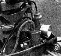 Карбюратор «Йиков», установленный на «Нептуне-23»