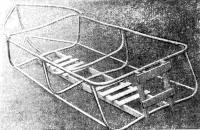 Каркас лодки в сборе
