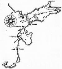 Карта Балтики