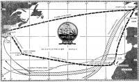 Карта маршрута «Операции «Парус-76»