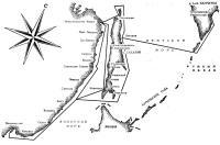 Карта маршрута плавания