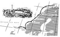Карта плавания за Полярный круг