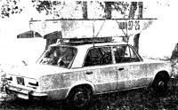 «Картоп МК-1» на крыше автомобиля