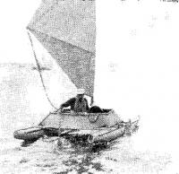 Катамаран «Альбатрос» на воде