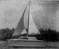 Катамаран «Круиз» на воде