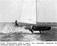 Катамаран «Мэйфлай» на подводных крыльях