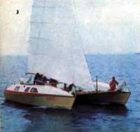 Катамаран «Янус» — победитель гонок крейсерских катамаранов