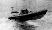 Катер «Атлантик-21» на ходу