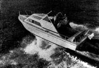 Катер «Экспресс-крейсер» на ходу