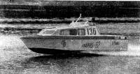 Катер «ЛМ4-87МК» во время соревнований на приз журнала в 1982 г.
