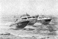 Катера класса «Крейсер» в проливе Те-Солент