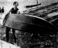 Клайв Коленяо — обладатель нового рекорда скорости на виндсерфере